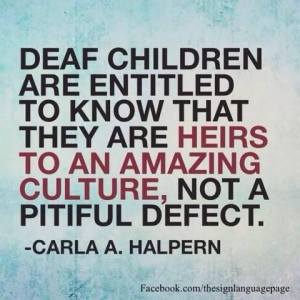 DeafchildrenentiledDeafculture