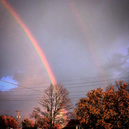 Double Rainbow, pictured in LaPorte, IN